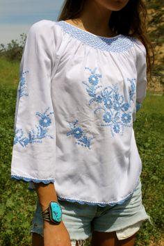 Pretty Pretty 1940s Hungarian Beauty Cotton Chiffon by Vdingy, $89.00