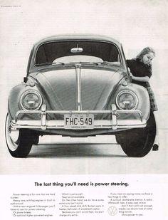 1964 Volkswagen Beetle Ad
