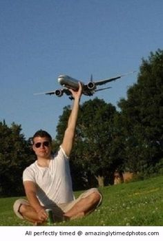 I have my own plane to play  http://amazinglytimedphotos.com/i-have-my-own-plane-to-play/#.VCh2TEt_zLQ