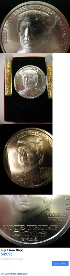 Bullion: 1-Oz.999 Silver Coin Donald J Trump Pence Gop Make America Great Again   Gold BUY IT NOW ONLY: $49.95 #priceabateBullion OR #priceabate