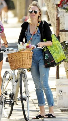Trend Alert: Celebrities in Overalls - Naomi Watts from #InStyle