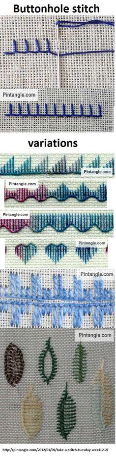 Seam stitch