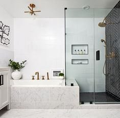 Face It: These 9 Master Bath Ideas Are Pure Genius | Hunker bath bench flow