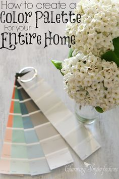 """Getting that """"Wow Factor"""" in a home depends on one thing: getting the color right! If you want fluidity and unity in the design of your entire home, you simply need to create a whole home color palette."""