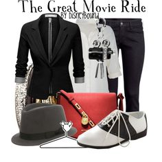 """The Great Movie Ride"" by leslieakay on Polyvore"
