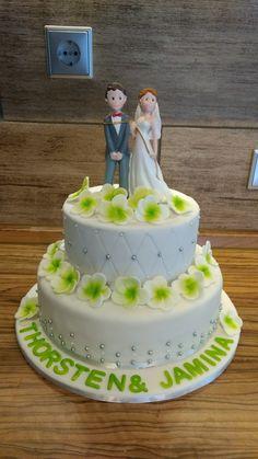 Hochzeitstorte, Frangipani, Wedding, Fondant
