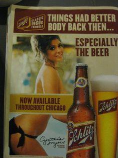Inappropriate Vintage Ads   06 – Schlitz