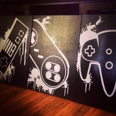 Welcome to Control Freak Video Game Art featuring paintings for any kind of video game lover.These are completely original, hand painted