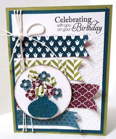 Stamps At Play: Birthday Bouquet - Color and Sketch Challenges