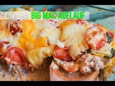 Low Carb Big Mac Auflauf - Mega lecker & super einfach!