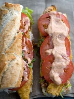 Fish Dishes, Seafood Dishes, Seafood Recipes, Cooking Recipes, Remoulade Sauce, Cajun Remoulade, I Love Food, Good Food, Yummy Food