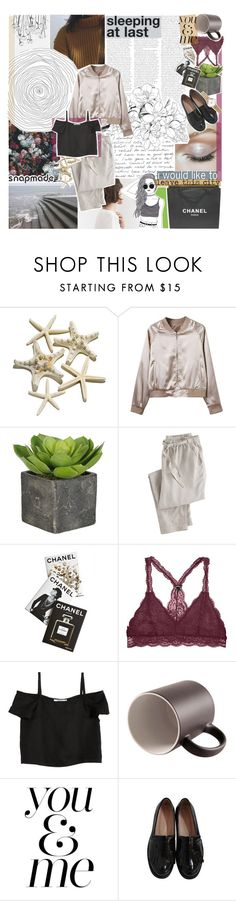 """""""i can feel the warning signs"""" by adal1ne ❤ liked on Polyvore featuring Wrap, Assouline Publishing, Shaina Mote, WALL, Maybe-Baby and Chanel"""