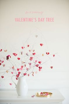 DIY Valentine's Day branch tree - The House That Lars Built