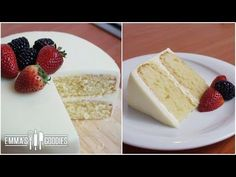 Almond White Cake Recipe - Amazingly Moist Cake - YouTube
