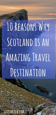 Travel guide for visiting Scotland, one of the most underrated travel destinations. Scotland travel  travel bucket list