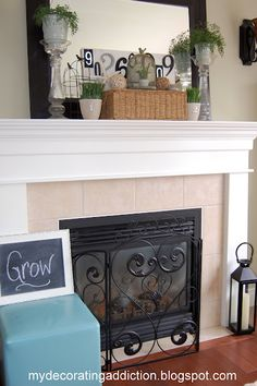 Waiting for Summer Mantel