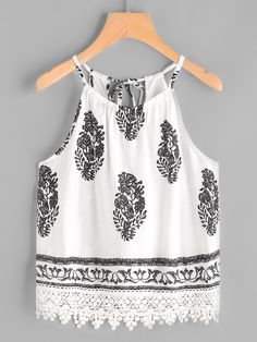 Shop Graphic Print Self Tie Back Lace Hem Cami Top online. SheIn offers Graphic … Shop Graphic Print Self Tie Back Lace Hem Cami Top online. SheIn offers Graphic Print Self Tie Back Lace Hem Cami Top & more to fit your fashionable needs. Girly Outfits, Cute Summer Outfits, Spring Outfits, Dress Outfits, Cool Outfits, Casual Outfits, Dresses, Teen Fashion, Fashion Outfits