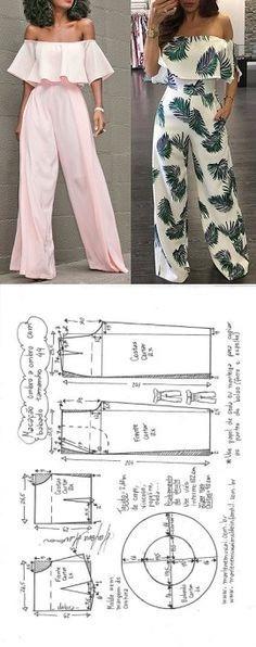 Amazing Sewing Patterns Clone Your Clothes Ideas. Enchanting Sewing Patterns Clone Your Clothes Ideas. Diy Clothing, Sewing Clothes, Clothing Patterns, Dress Patterns, Sewing Pants, Fashion Sewing, Diy Fashion, Ideias Fashion, Punk Fashion