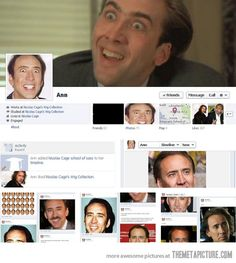 Nicolas cage school of sass Haha Funny, Funny Cute, Lol, Freaking Hilarious, Laughing So Hard, Laugh Out Loud, Make Me Smile, I Laughed, Laughter