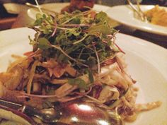 live young coconut pad thai from candle 79 - new york