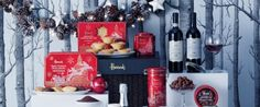 Win Two Harrods Christmas Hampers Worth £600