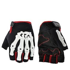 Fingerless Motorcycle Gloves Cycling Bicycle Riding Racing Gloves Sport Fashion Gloveshttps://www.amazon.co.uk/dp/B071LJLQSV?th=1