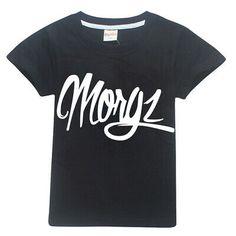 Personalised Morgz Merch Mens Prank King Kids Tshirt Youtuber Gaming T-Shirt
