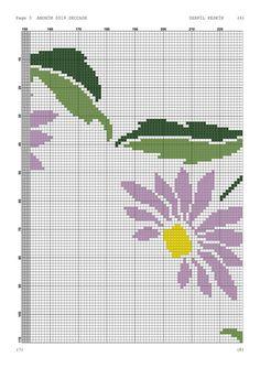 Cross Stitch, Floral, Cross Stitch Pictures, Cross Stitch Embroidery, Monogram Alphabet, Craft, Railings, Flower Chart, Cross Stitch Bookmarks