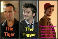 9,10,11 Doctor Wallpapers   Doctor Who 9, 10, and 11.