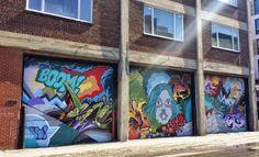 Street Art Saint Charles, Old Buildings, Montreal, The Neighbourhood, Street Art, Old Things, Real Estate, Urban, History