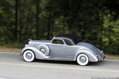 1936 Lincoln Model K Stationary Coupe with custom coachwork by LeBaron.