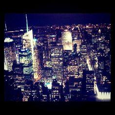 #instagram #photography #lights #city #night #neversleeps