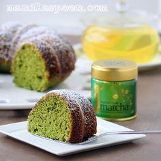 Manila Spoon: Amazing Green Tea Cake