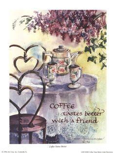 Кофе вкуснее, постер на кофе Декор
