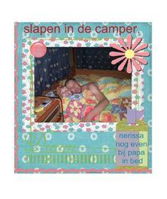 slapen in de camper