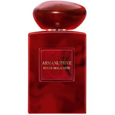Armani Beauty Prive Rouge Malachite 100ml (2,420 HKD) ❤ liked on Polyvore featuring beauty products, fragrance, flower fragrance, flower perfume, armani beauty and blossom perfume
