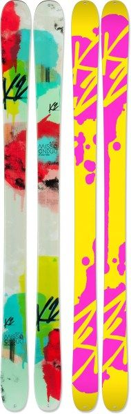 K2 MissConduct Skis - Women's - 2013/2014 - Free Shipping at REI.com