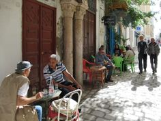 This small cafe on Rue Sidi Ben Arous in the Tunis medina is popular among Tunisian locals. Carthage, Small Cafe, Baby Strollers, Popular, Beautiful, Baby Prams, Small Coffee Shop, Most Popular, Cartago