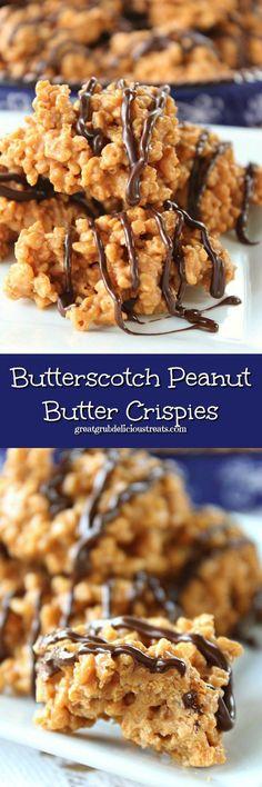 Butterscotch Peanut Butter Crispies