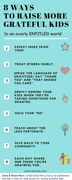 How To Raise Grateful Kids In An Overly Entitled World - Beenke