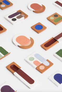 Cosmetic packaging design by Kim Ramain-Colomb