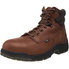 Mens 6 inch Timberland Pro TiTAN Safety Toe Boots Coffee Coffee 10.5 2E * More info could be found at the image url. (This is an affiliate link) #TimberlandShoes