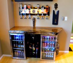 Turning Your Basement into the Ultimate Man Cave Can Be Fun - Man Cave Home Bar Man Cave Room, Man Cave Diy, Man Cave Basement, Man Cave Home Bar, Man Cave Garage, Garage Bar, Garage Man Cave Ideas On A Budget, Men Cave, Small Man Cave Ideas Diy