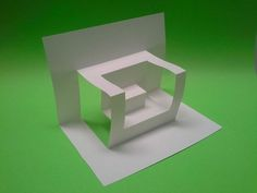 Origami And Kirigami, Origami Folding, Origami Paper, Paper Quilling, Diy Paper, Arte Pop Up, Pop Up Art, Tutorial Kirigami, Libros Pop-up