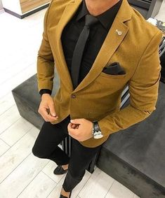 mens suits big and tall regular fit Blazer Outfits Men, Mens Fashion Blazer, Suit Fashion, Fashion Outfits, Fashion Rings, Men Blazer, Cheap Fashion, Fashion 2020, Fashion Boots