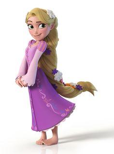ArtStation - Rapunzel - Disney Infinity, Brad Bolinder
