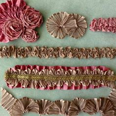 You can Never Make Too Many Samples   Vintage Passementerie