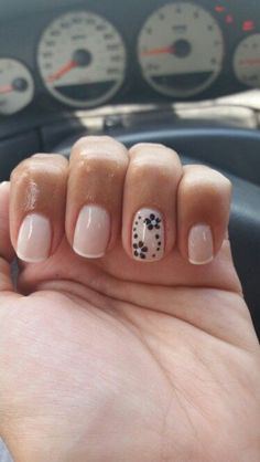 A twist on a french manicure