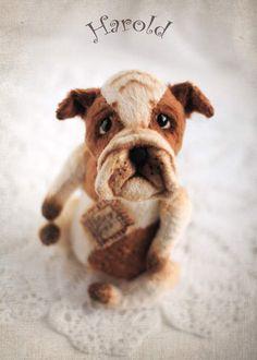 Harold - bulldog by By Janna Pankova | Bear Pile