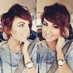 23 prachtige korte kapsels voor personen met rood haar! Bekijk ze nu.. - Kapsels voor haar